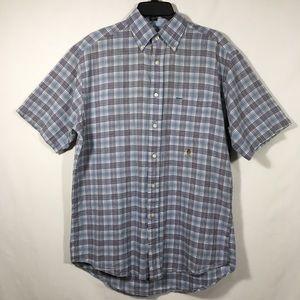 Tommy Hilfiger Short Sleeve Button Front Shirt